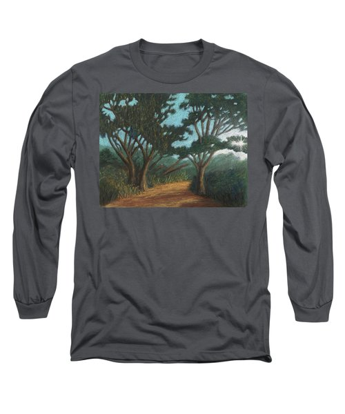 Path By Lake Murray 01 Long Sleeve T-Shirt