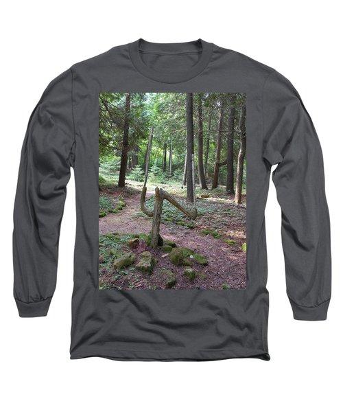 Path Of Choice Long Sleeve T-Shirt