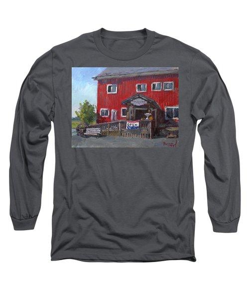 Patricia's Back Barn Long Sleeve T-Shirt