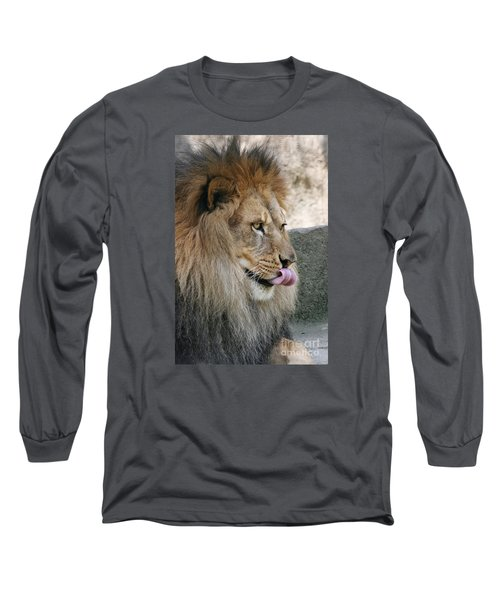 Long Sleeve T-Shirt featuring the photograph Pbbbt by Judy Whitton