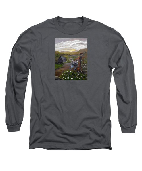 Peace In The Valley Long Sleeve T-Shirt by Sheri Keith