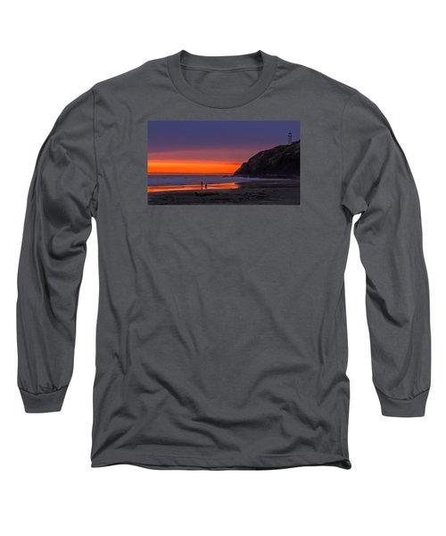 Peaceful Evening Long Sleeve T-Shirt by Robert Bales