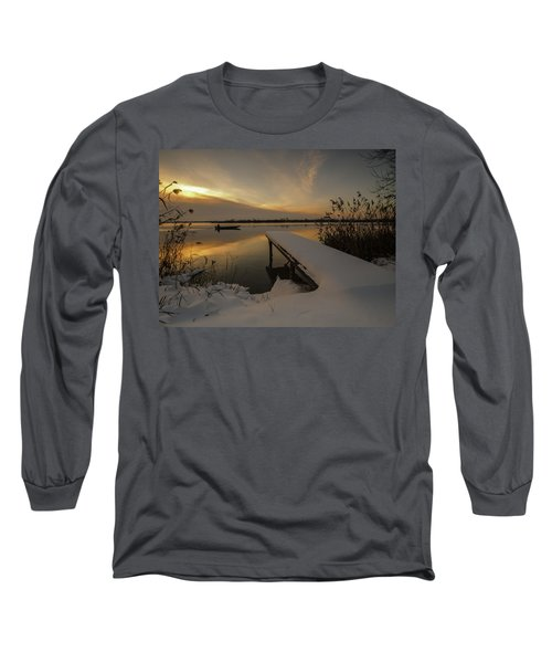Peaceful Morning  Long Sleeve T-Shirt by Davorin Mance