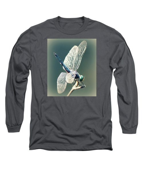 Peaceful Pause Long Sleeve T-Shirt by Melanie Lankford Photography