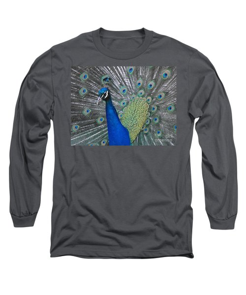 Peacock Long Sleeve T-Shirt