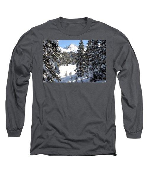 Peak Peek Long Sleeve T-Shirt