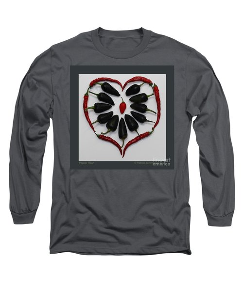 Pepper Heart Long Sleeve T-Shirt