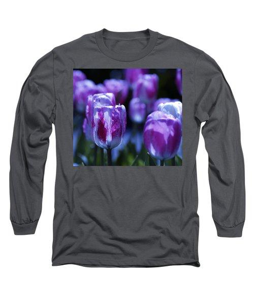 Peppermint Candies Long Sleeve T-Shirt by Joe Schofield