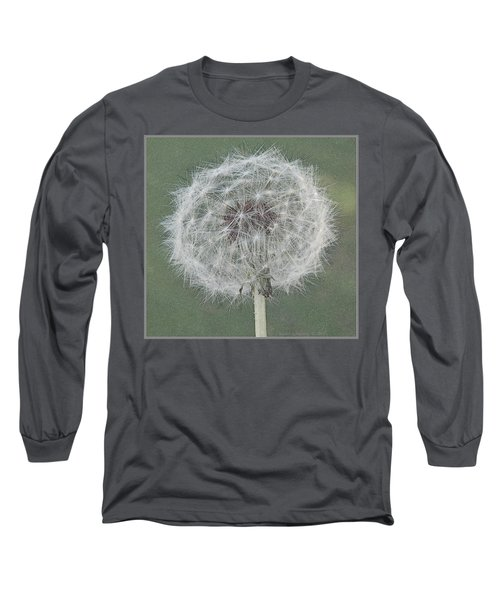 Perfect Dandelion Long Sleeve T-Shirt