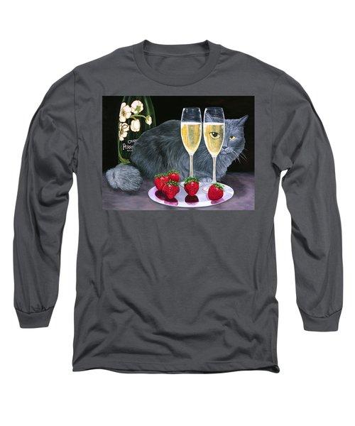 Perrier Jouet Et Le Chat Long Sleeve T-Shirt