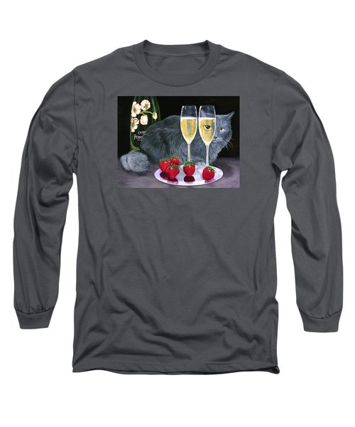 Perrier Jouet Et Le Chat Long Sleeve T-Shirt
