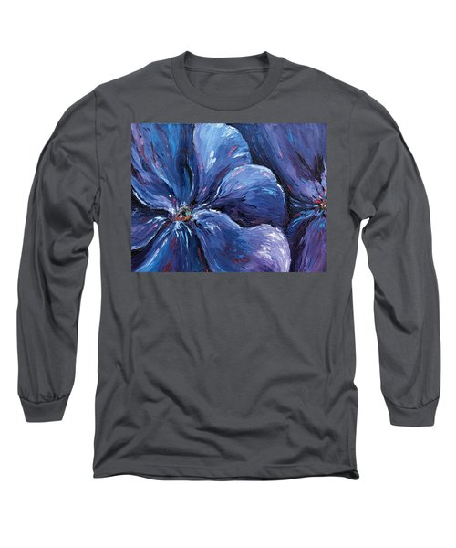 Long Sleeve T-Shirt featuring the painting Persevering Hope by Meaghan Troup