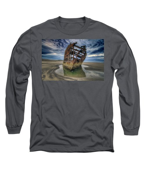 Peter Iredale At Dawn Long Sleeve T-Shirt