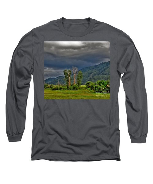 Long Sleeve T-Shirt featuring the photograph Petes Trees by Sam Rosen