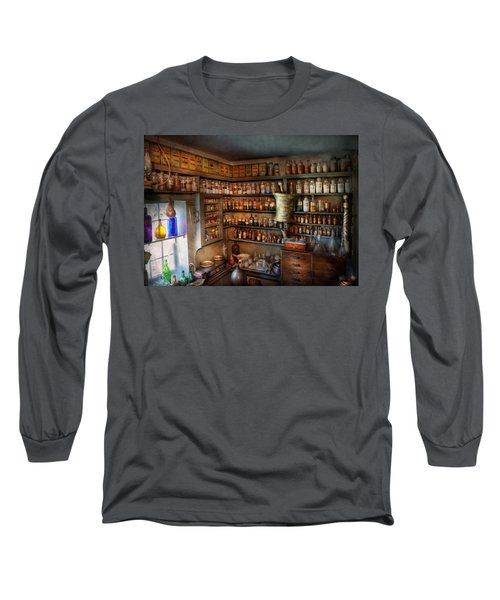 Pharmacy - Medicinal Chemistry Long Sleeve T-Shirt by Mike Savad