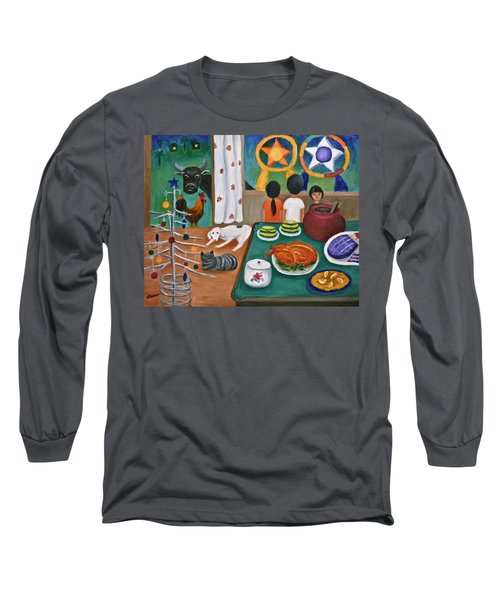 Philippine Christmas 2 Long Sleeve T-Shirt by Victoria Lakes
