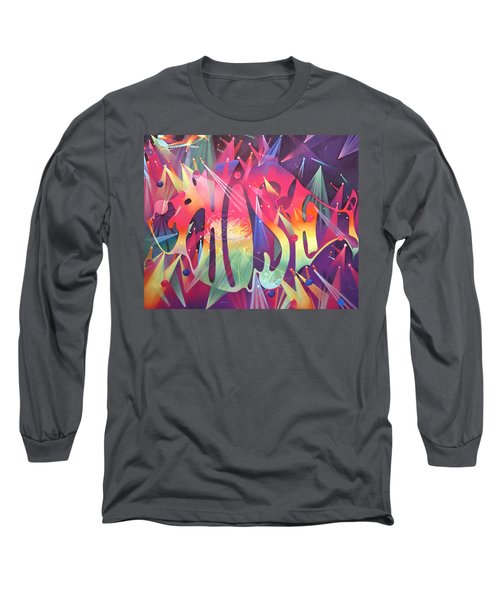 Phish The Mother Ship Long Sleeve T-Shirt by Joshua Morton