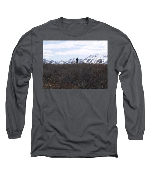 Photographing Nature   Long Sleeve T-Shirt by Tara Lynn