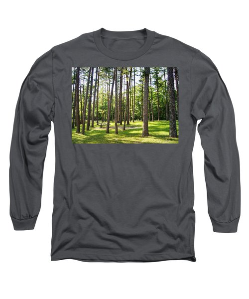Picnic In The Pines Long Sleeve T-Shirt