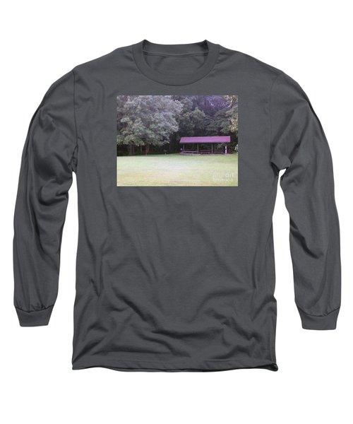 Picnic Shelter Long Sleeve T-Shirt