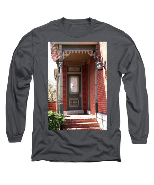 Picturesque Porch Long Sleeve T-Shirt