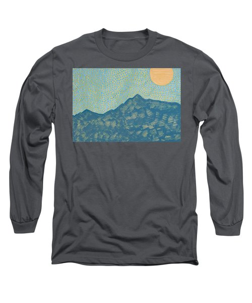 Picuris Mountains Original Painting Long Sleeve T-Shirt