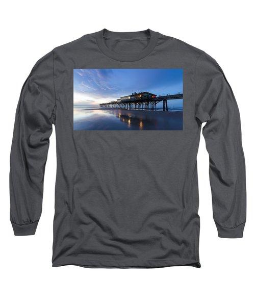 Pier At Twilight Long Sleeve T-Shirt