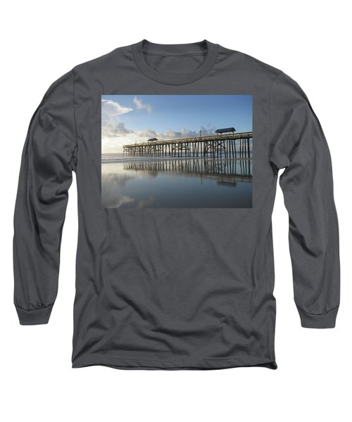 Pier Reflection Long Sleeve T-Shirt