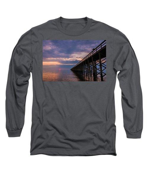 Pier To The Horizon Long Sleeve T-Shirt