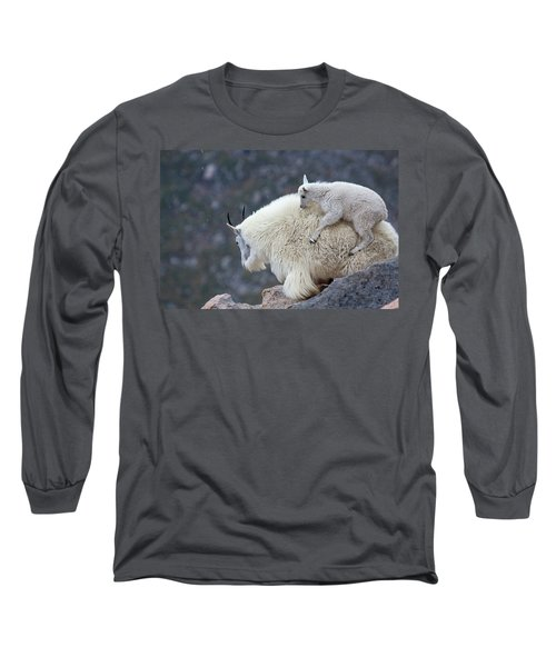 Piggyback Ride Long Sleeve T-Shirt