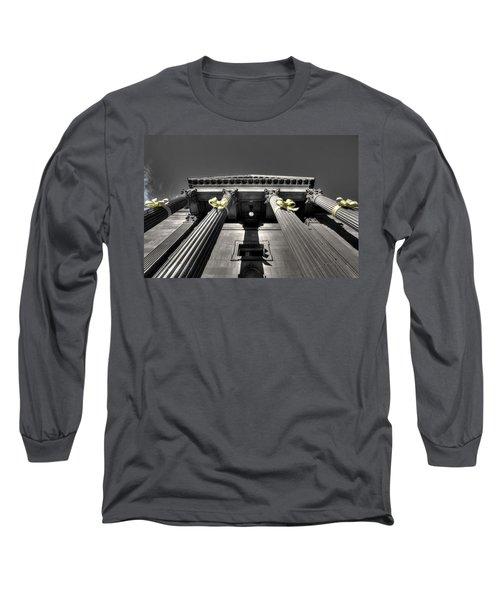 Long Sleeve T-Shirt featuring the photograph Pillard by David Andersen