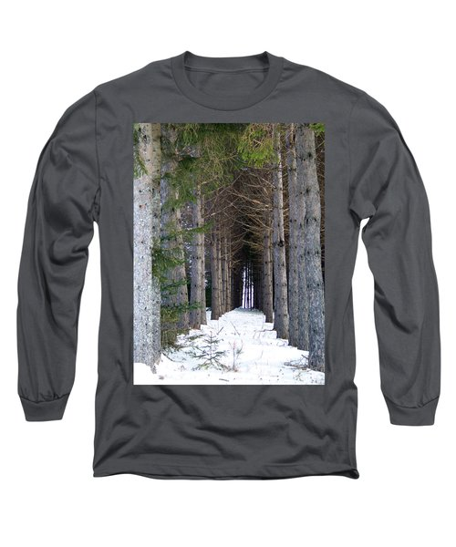 Pine Cathedral Long Sleeve T-Shirt