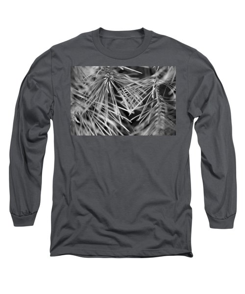 Pine Needle Abstract Long Sleeve T-Shirt by Susan Stone