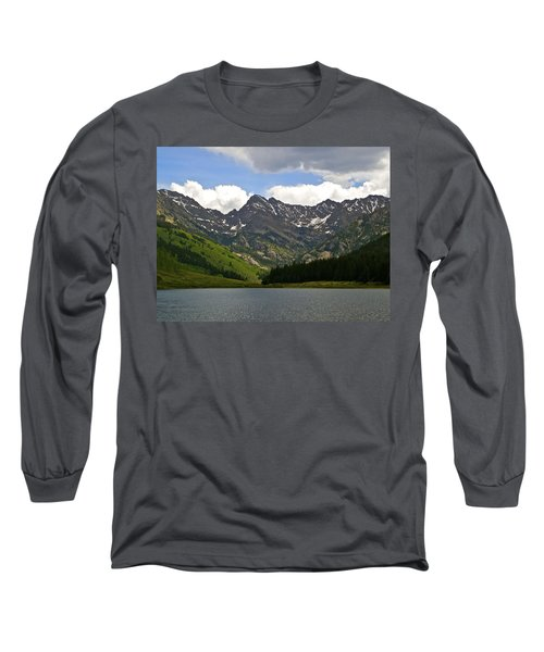 Piney Lake Vail Colorado Long Sleeve T-Shirt