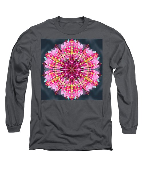 Pink Lightning Long Sleeve T-Shirt