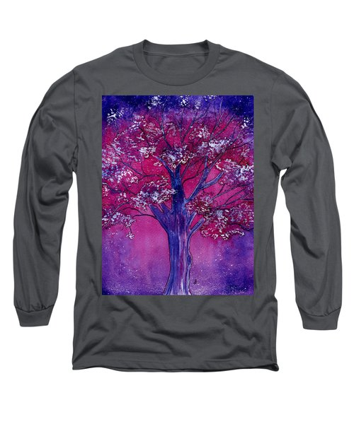 Pink Spring Awakening Long Sleeve T-Shirt