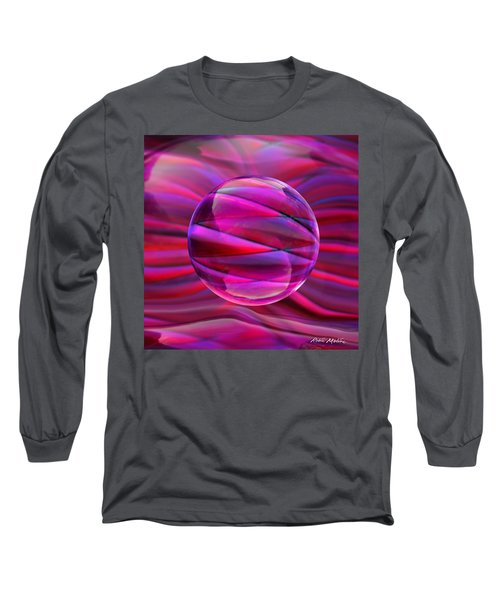 Pinking Sphere Long Sleeve T-Shirt