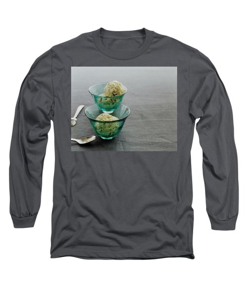 Pistachio Semifreddo Long Sleeve T-Shirt