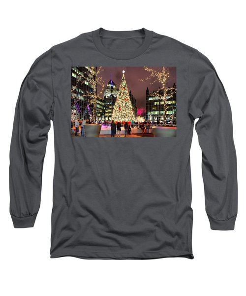 Pittsburgh Holiday Season 2 Long Sleeve T-Shirt by Emmanuel Panagiotakis