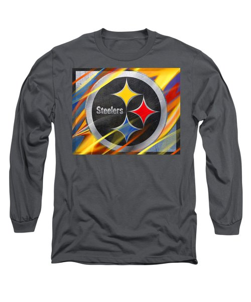 Pittsburgh Steelers Football Long Sleeve T-Shirt