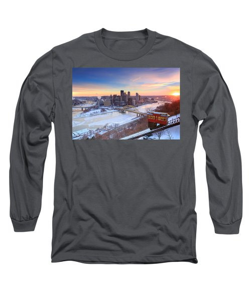 Pittsburgh Winter 2 Long Sleeve T-Shirt by Emmanuel Panagiotakis