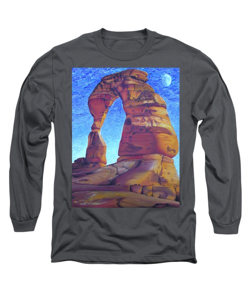 Long Sleeve T-Shirt featuring the painting Place Of Power by Joshua Morton