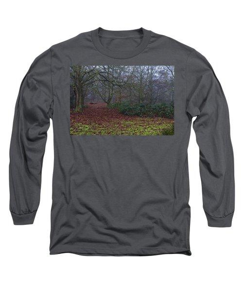 Long Sleeve T-Shirt featuring the photograph Plantation Leaves by Maj Seda