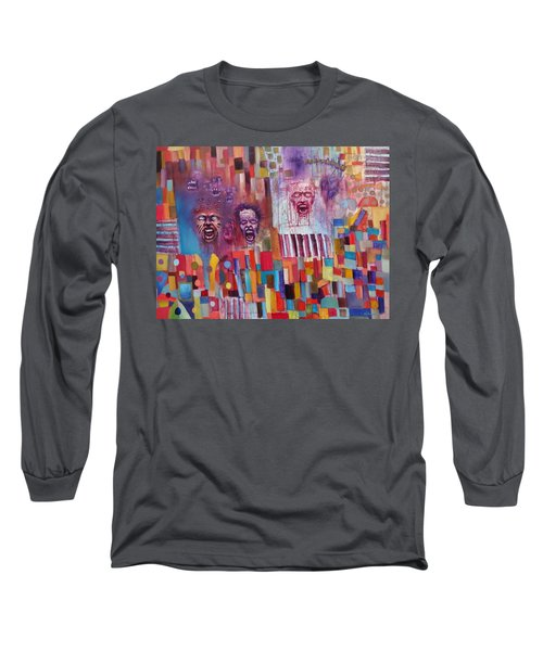 Playground Of The Undead Long Sleeve T-Shirt by Jason Williamson