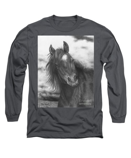 Playing Before The Storm Long Sleeve T-Shirt
