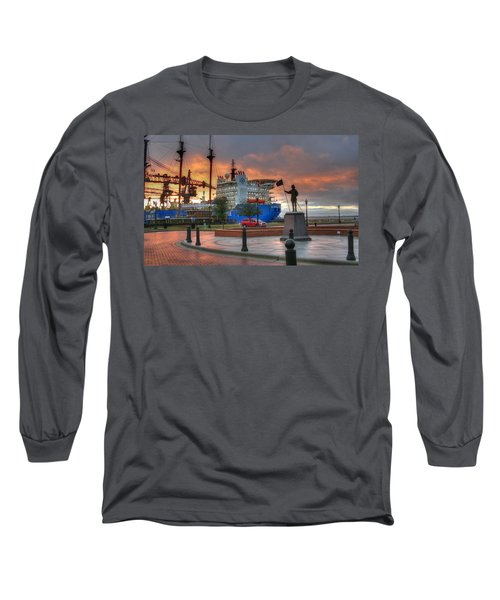 Plaza De Luna Long Sleeve T-Shirt