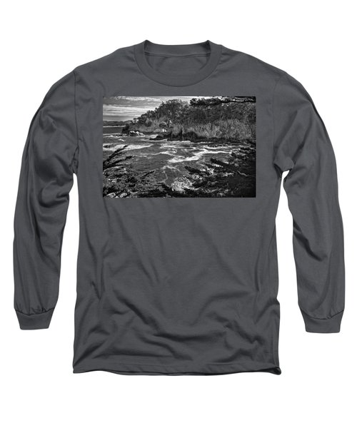 Long Sleeve T-Shirt featuring the photograph Point Lobo  by Ron White