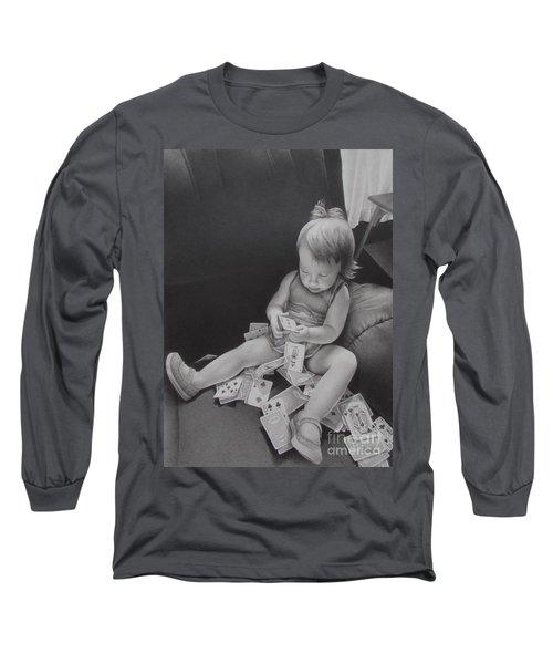 Pokerface Long Sleeve T-Shirt