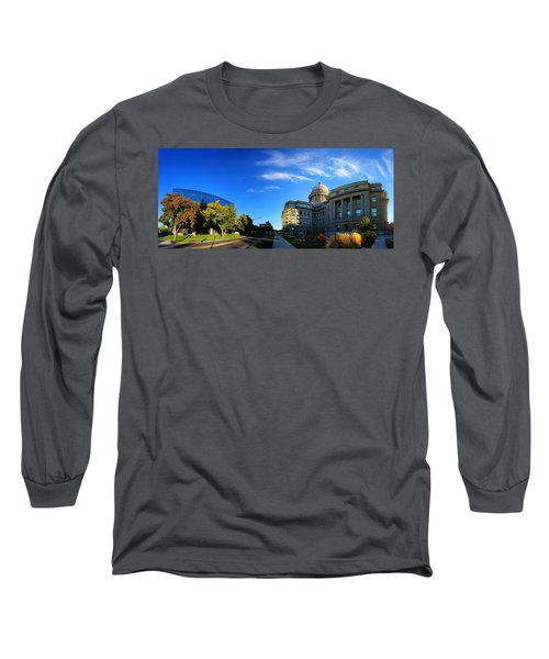 Long Sleeve T-Shirt featuring the photograph Political Warping by David Andersen