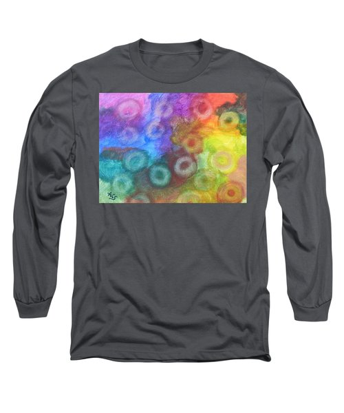 Polychromatic Rbc's Long Sleeve T-Shirt